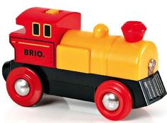 Brio Two-way Battery Powered Engine BRI-33594 The original BRIO Battery Powered Engine goes both forwards and backwards always with the headlight on. Length 90 mm / 3.5. Requires 1x AAA battery.... (Barcode EAN=7312350335941) http://www.MightGet.com/january-2017-12/brio-two-way-battery-powered-engine-bri-33594.asp