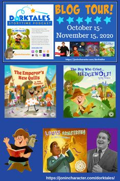 Awesomeness, Thy Name is Dorktales Storytime! | Always Be Dancing Louis Armstrong, Book Themes, Big Bang Theory, Story Time, Boys Who, Book Lists, Children's Books, Bigbang, Quilling