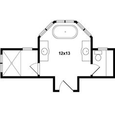 Master Bathroom Design 14x14 Size May Be Vanity Next To