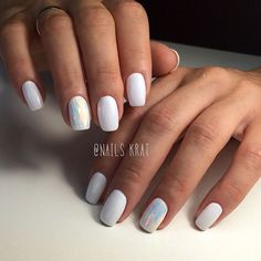 33 Stunning White Color Nails To Inspire YouWhite nail polish became successful and that we couldn't be a lot of excited regarding it. it's one among the simplest base colors. White nail art appearance pure is what you would like for an overall elega Best White Nail Polish, White Nail Art, White Nails, White Manicure, White Chrome Nails, Get Nails, Hair And Nails, Perfect Nails, Nail Manicure