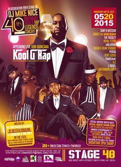 238BEATS: #Event @DJMIKENICE 40th Birthday & Rap Legends Con... Birthday Rap, Kool G Rap, Brand Nubian, Dj, Entertainment, Group, Concert, Movie Posters, Legends