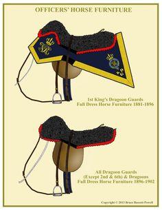 DRAGOON GUARDS & DRAGOONS HORSE FURNITURE