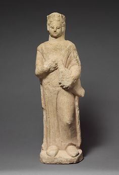 Limestone statuette of a boy | Cypriot | Hellenistic | The Met