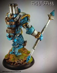 Cygnar Lancer Light Warjack 04