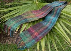 phazy8's Silk Garden Scarf (yes, I know it's woven and not knit)