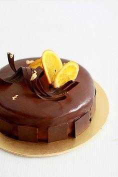 리치 초콜릿 오렌지 앙트르메