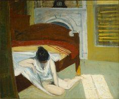 Summer Interior (1909) Whitney Museum of American Art - Edward Hopper