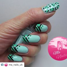 #Repost @ma_nails_uk with @repostapp.  Two tone green #nails #leightondenny #nailsofinstagram #nailsoftheday #nailstagram #instanails #nailitdaily #nailartaddict #naildesigns #showmynails #nailart #nails2inspire by nails_addicts_group