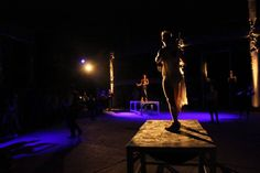 """Highlights from yesterday's premiere of the """"landing_an odyssey"""" performance at the Old Oil Mill of Eleusis, by the group of the intercultural pan-European project """"Meeting the Odyssey""""."""