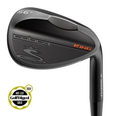 COBRA's KING Black wedges blend precision, versatility and durability with a new DBM (Diamonized Black Metal) finish, CNC milled grooves, and tour-inspired grinds. Best Golf Club Sets, Best Golf Clubs, Golf Club Covers, Golf Club Art, King Cobra Golf, Cobra Golf Clubs, Vintage Golf Clubs, Golf Wedges, Golf Clubs For Sale