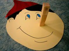 Προσχολική Παρεούλα : Παιχνίδια για την ημέρα της Πρωταπριλιάς !!!!!! Pinocchio, Literacy Activities, Preschool Activities, Toddler Crafts, Crafts For Kids, English Lessons For Kids, Games For Toddlers, Storytelling, Art For Kids