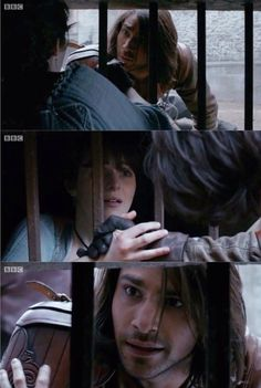 D'Artagnan & Constance. The Musketeers