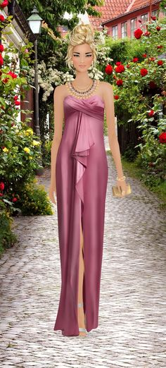 """Covet Fashion Game Event """"Debut a Rose Hybrid"""""""