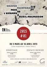 Les centres culturels de Rueil-Malmaison fêtent leurs 20 ans d'existence et exposent l'estampe, avec l'association Graver Maintenant, ce mois-ci. En ce samedi 21 mars, premier jour de printemps et d'optimisme, Anne-Marie-Blondiot, directrice des centres,...
