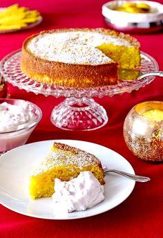 Glutenfri saffranskaka Food N, Diy Food, Food And Drink, Gluten Free Cakes, Gluten Free Recipes, Healthy Recipes, Cake Recipes, Dessert Recipes, Desserts