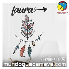 Contáctanos Whats App: 3212004656. Vinilos decorativos, Habitaciones Juveniles ¿Quieres unos para tí? www.mundoguacamaya.comBogotá Colombia