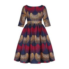 African print dress 100% polyester made with high quality not african print wax fabric ( please read carefully) Latest African Fashion Dresses, African Dresses For Women, African Attire, African Clothes, American Apparel, American Clothing, African Dashiki, Ankara Dress, Mid Length Dresses