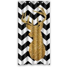 black white chevron shower curtain. Get Naked Zig Zag Chevron Shower Curtain  Exclusive to Pinklim Fabric Water Resistant No liner needed Ambesonne http www amazon com dp B012TP9