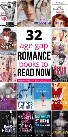In the mood for a romance with an age difference? This curated list features some of the best age gap romance books for you to fall in love with. Enjoy! #books #bookstoread #booksworthreading #romance Good Books, Books To Read, Reading Facts, Age Difference, Book Subscription, Slow Burn, Paranormal Romance, Critic, Book Of Life