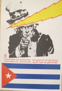 "Political OSPAAAL POSTER/""Guatemala/""Cold War Socialism.Revolution Art.27"