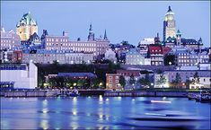 in Best Places to Visit in Canada - Québec City, the cradle of French civilization in North America is known for its beautiful landscapes, cultural and The Places Youll Go, Cool Places To Visit, Great Places, Places To Travel, Beautiful Places, Amazing Places, Quebec Montreal, Quebec City, Nice Old Town