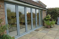 Aluminium Bi-folding Doors  -  Any Ral Colour, Trade Prices