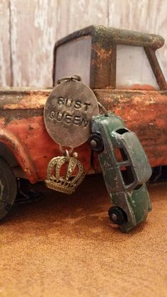 Check out this item in my Etsy shop https://www.etsy.com/listing/207362454/tootsietoy-chippy-green-car-keychain