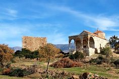 Agios Georgios, at Vasilika, Chios, Greece #Byzantine architecture