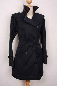 Beautiful vintage Burberry trench coat, refurbished to a modern look, size XS, $279