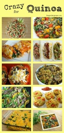 Quinoa Recipes - Food & Drink Recipes