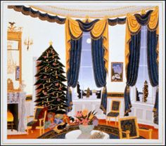 1995: The Clintons Christmas Card