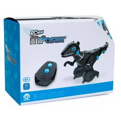 cac5208e819c2 WowWee RC Mini MiPosaur Dinosaur Robot Toy with Remote Control Image 2 of 5