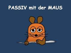 Passiv mit der Maus:  Präsens - Präteritum - Perfekt PPt-Präsentation zum gleichnamigen Arbeitsblatt DaF - B2 LINK zum Arbeitsblatt: http://www.slideshare.net/…