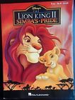 Disney The Lion King 2 Simba's Pride Sheet Music Book Piano Vocal Guitar - http://musical-instruments.goshoppins.com/sheet-music-song-books/disney-the-lion-king-2-simbas-pride-sheet-music-book-piano-vocal-guitar/