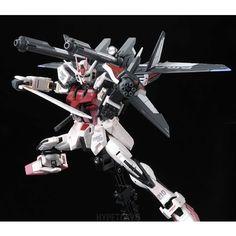 Gundam Seed Real Grade 1/144 Plastic Model Series : MBF-02+P202QX Strike Rouge I.W.S.P.