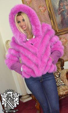 PELZ PELZMANTEL MANTEL FASHION FUCHS FUR COAT FOX PELLICCIA VOLPE мех лисы in Abbigliamento e accessori, Donna: abbigliamento, Cappotti e giacche | eBay