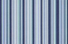 Sunbrella Porto Azur from the Cushion/Furniture/Drapery Fabrics Sunbrella® Stripes collection.