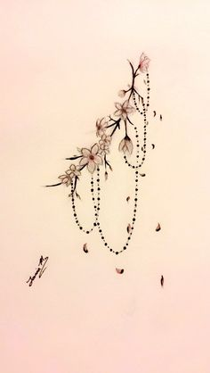 Sideboob Tattoo Design By Tania M. #Cherry Blossom #Sideboob #Sakura #Tattoo