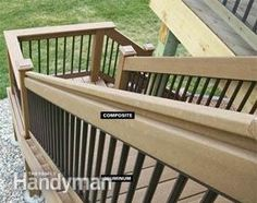 Expert deck builders show you how to install Trex decking like a pro! Get step-by-step instructions (with pictures) & pro tips from our composite deck experts! Composite Decking, Trex Decking, Build A Picture Frame, Staircase Outdoor, Deck Building Plans, Platform Deck, Cabin Decks, Deck Posts, Balcony Deck