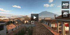 Pompeya y el Vesubio, 48 dramáticas horas que hicieron historia. Reconstrucción virtual de la erupción.