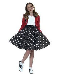red, black and white Polka Dot Costumes would be so easy to do for Catholic Schools Week! red, black and white Polka Dot Costumes would be so easy to do for Catholic Schools Week! Vintage Outfits, 50s Outfits, Girl Outfits, Fashion Outfits, 50s Halloween Costumes, Girl Costumes, 1950s Costumes, 70s Costume, Vampire Costumes
