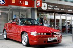 #Alfa Romeo SZ #italiandesign