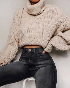 Casual Winter Outfits, Winter Fashion Outfits, Simple Outfits, Look Fashion, Trendy Outfits, Fall Outfits, Womens Fashion, Fashion Clothes, Latest Fashion