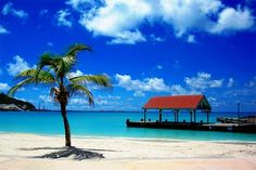 St. Marteen- I always loved the idea of living on a beach!