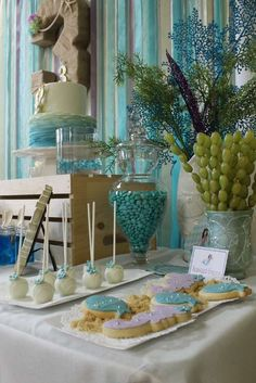 Mermaids / Under The Sea featuring Dora Mermaid Birthday Party Ideas   Photo 81 of 103   Catch My Party