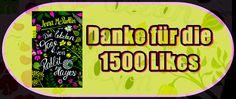 Leserattes Bücherwelt: [Verlosung] Danke für die 1500 Likes