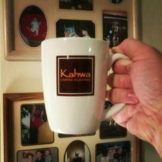 Kahwa coffee mug.