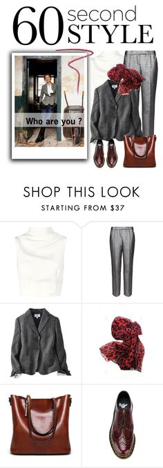 """Who are you ? / Oh! I was late for the contest!"" by vinograd24 ❤ liked on Polyvore featuring Nana', Keepsake the Label, M&S, Uniqlo, Dr. Martens, Burberry, jobinterview and 60secondstyle"