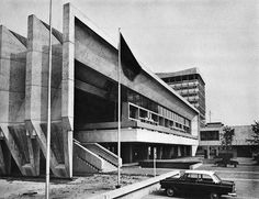 Town Hall, Marl, Germany. built 1967, Van den Broek
