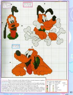 The tender Pluto Disney embroidery (3)